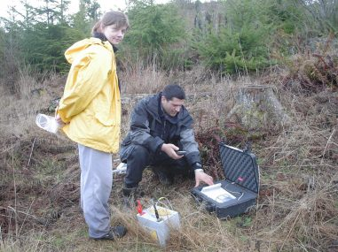 Burying a seismometer on Washingtons Olympic Peninsula